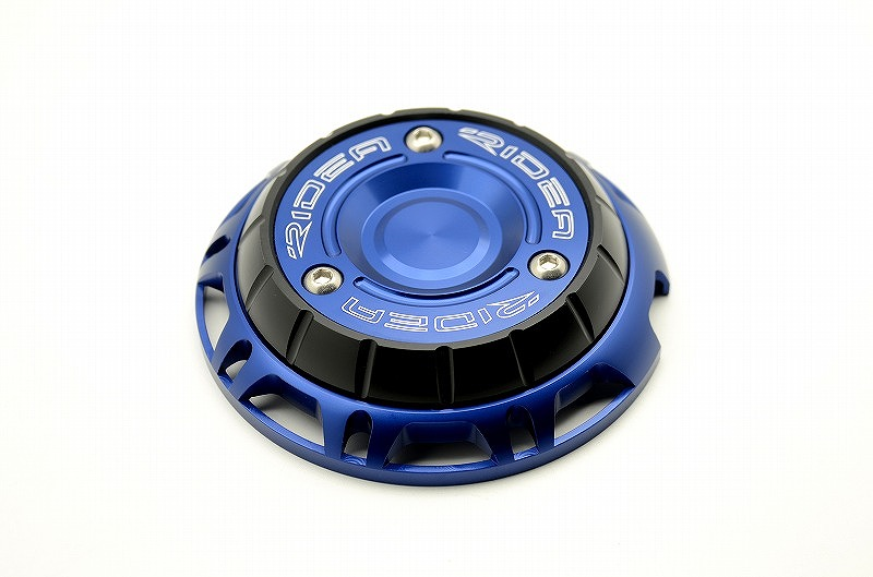 GROM(グロム)13~16年 エンジンプロテクター ブルー RIDEA(リデア)