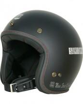 R66H-1501 ジェットヘルメット マットブラック S-M(Lady's対応)サイズ ROUTE66(ルート66)