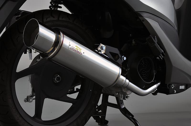 Dio110(ディオ110)JF31 Full Boost(フルブースト)SUS ステンレスマフラー リアライズレーシング(RealizeRacing)
