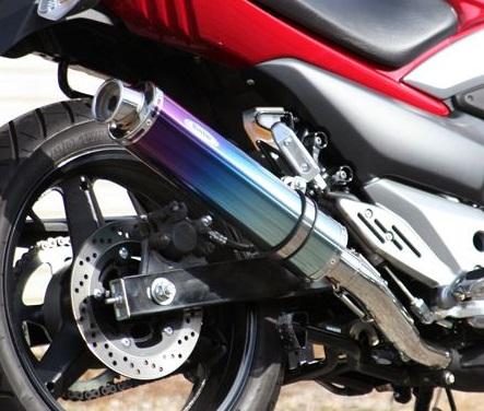 GSR250 Aria チタンサイレンサー TypeC(カールエンド)スリップオン リアライズレーシング(RealizeRacing)