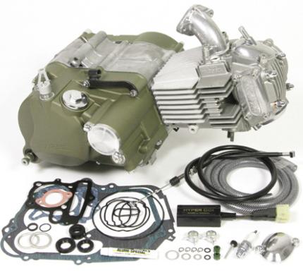 モンキー(MONKEY)エンジン SP武川(TAKEGAWA)スーパーヘッド+R 148ccコンプリートエンジン