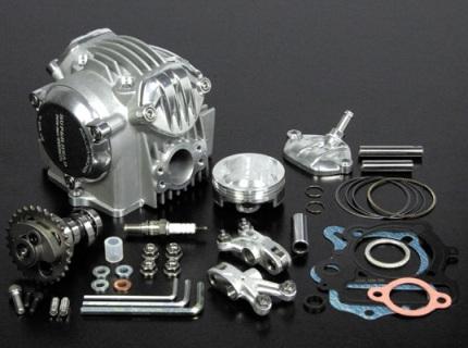 モンキー(MONKEY) SP武川 SCUT106cc装着車用スーパーヘッド 4バルブ+R バージョンアップキット