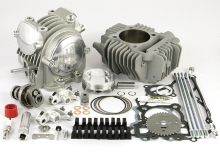 KLX110Lエンジン SP武川(TAKEGAWA)スーパーヘッド 4バルブボアアップキット 178cc
