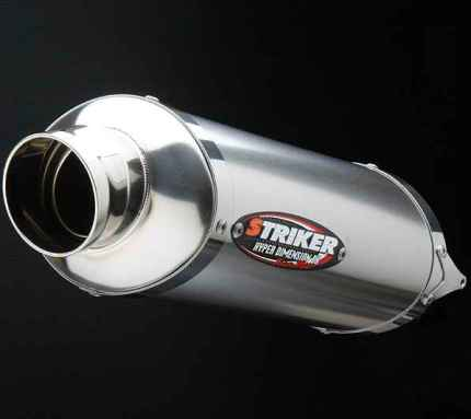 POWER MINI リペア チタンキャノンサイレンサー レーシング レーシング STRIKER(ストライカー) KSR110