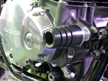 STRIKER ガードスライダー スライダー:ジュラコン スライダーベース:アルミシルバー STRIKER(ストライカー) CB1100