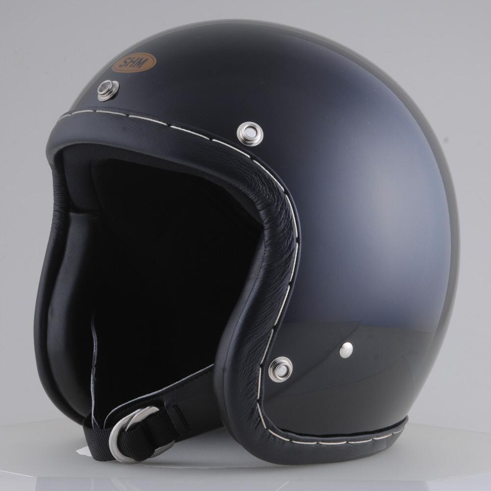 HAND STITCH Lot-101 ジェットヘルメット ブラック S(55cm~56cm) SHM