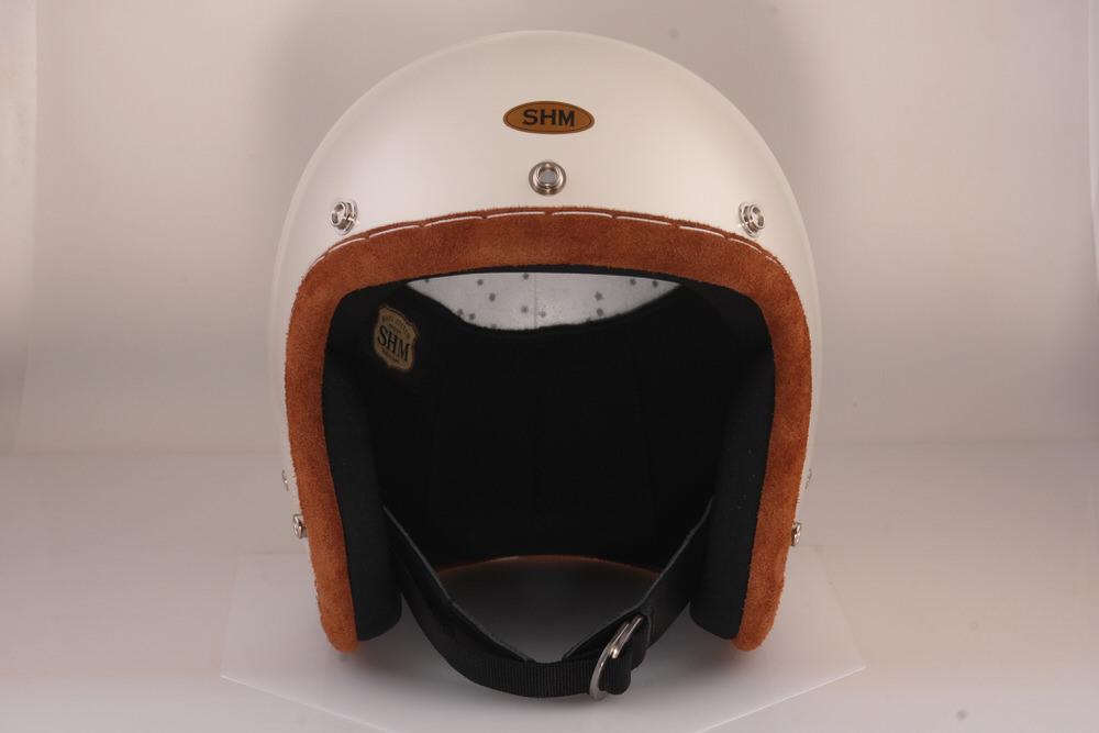 送料無料 HAND STITCH Lot-103 ジェットヘルメット 国内正規総代理店アイテム S ブリックトリム 絶品 55cm~56cm SHM