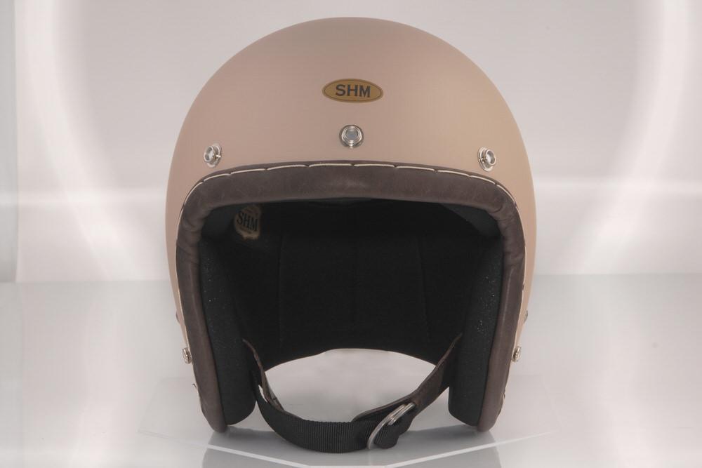 送料無料 SHM HAND STITCH Lot-105 S サンド スモールジェット 期間限定特別価格 55cm~56cm 海外限定 ジェットヘルメット