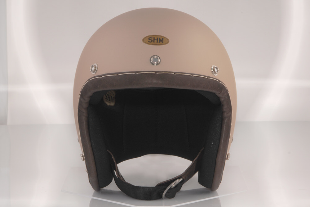 送料無料 SHM HAND STITCH Lot-105 ジェットヘルメット 59cm~60cm スモールジェット サンド 当店限定販売 L 希望者のみラッピング無料
