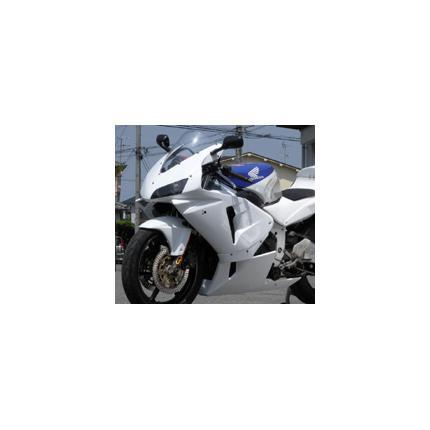 600RRレプリカフルカウル(片目耐久) 白ゲル スモークレンズ CBR250RR 90年~ SAITANIYA(才谷屋ファクトリー)