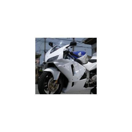 600RRレプリカフルカウル(600RRヘッドライトバージョン) 白ゲル CBR250RR 90年~ SAITANIYA(才谷屋ファクトリー)