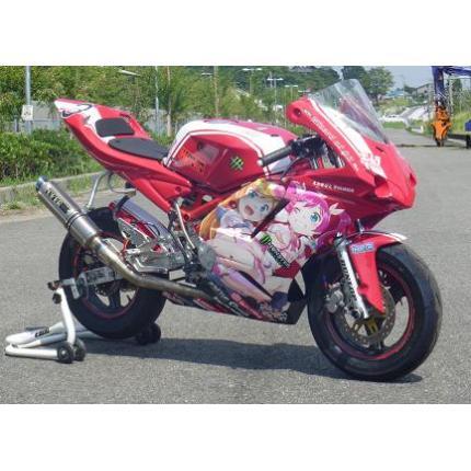 1098typeフルカウル 耐久レース2灯 白ゲル クリアーレンズ NSR50/80 SAITANIYA(才谷屋ファクトリー)