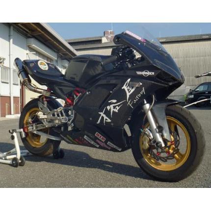 1098typeフルカウル 白ゲル レース NSF100 SAITANIYA(才谷屋ファクトリー)