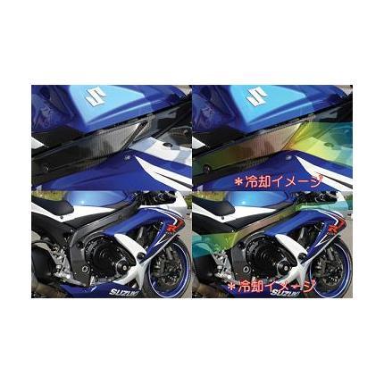 フレームヒートプロテクター 白ゲル GSX-R600 08~10年 SAITANIYA(才谷屋ファクトリー)