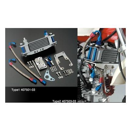 EARL'S#4オイルクーラーキットタイプ1 SHIFT UP(シフトアップ) モンキー12V/6V(NO.Z50J-1600008以降)