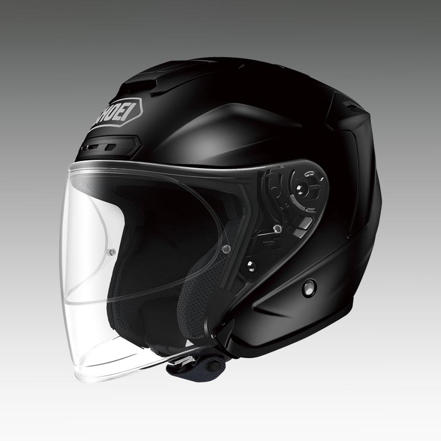 J-FORCE 4(ジェイ・フォース フォー) ブラック XXLサイズ(63cm) ジェットヘルメット SHOEI(ショウエイ)
