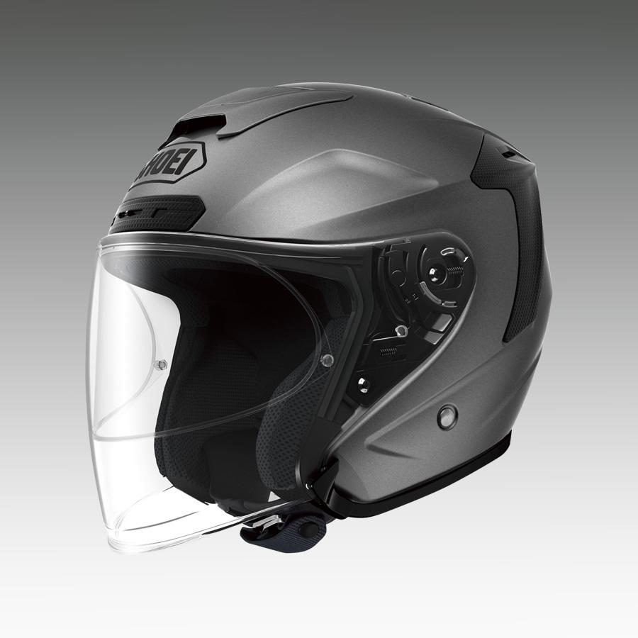 J-FORCE 4(ジェイ・フォース フォー) マットディープグレー XXLサイズ(63cm) ジェットヘルメット SHOEI(ショウエイ)