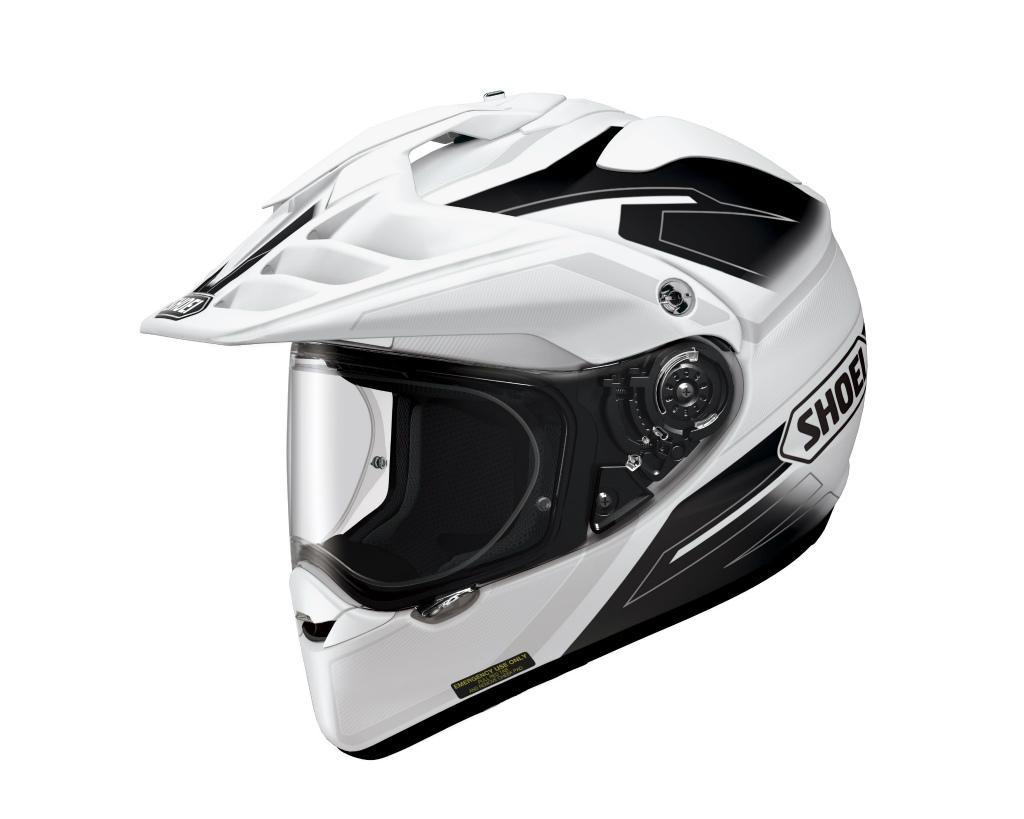 HORNET ADV SEEKER (ホーネット エーディーブイ シーカー) ホワイト/ブラック L(59cm) オフロードヘルメット SHOEI(ショウエイ)