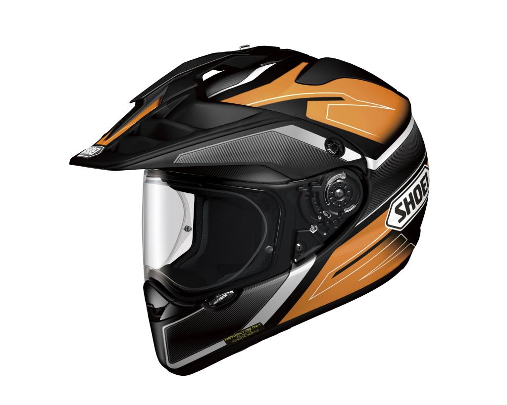 HORNET ADV SEEKER (ホーネット エーディーブイ シーカー) オレンジ/ブラック S(55cm) オフロードヘルメット SHOEI(ショウエイ)