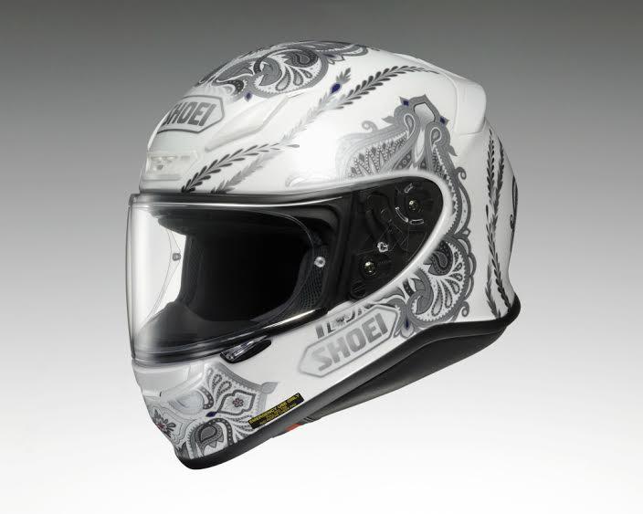 Z-7 DUCHESS (ゼット-セブン ダッチェス) ホワイト/シルバー S(55cm) フルフェイスヘルメット SHOEI(ショウエイ)