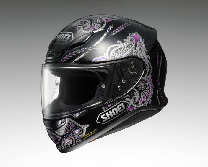 Z-7 DUCHESS (ゼット-セブン ダッチェス) ブラック/パープル L(59cm) フルフェイスヘルメット SHOEI(ショウエイ)