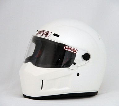 SUPER BANDIT(スーパーバンディット)13ヘルメット ホワイト 58cm(7-1/4) SIMPSON(シンプソン)