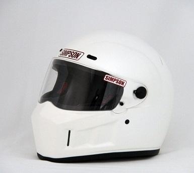 SUPER BANDIT(スーパーバンディット)13ヘルメット ホワイト 61cm(7-5/8) SIMPSON(シンプソン)