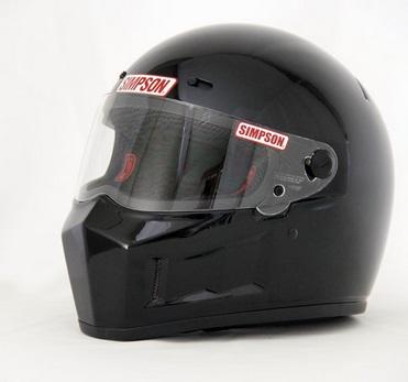 SUPER BANDIT(スーパーバンディット)13ヘルメット ブラック 61cm(7-5/8) SIMPSON(シンプソン)
