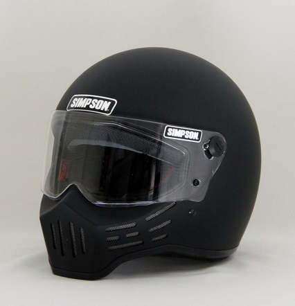M30ヘルメット マットブラック 60cm(7-1/2) SIMPSON(シンプソン)