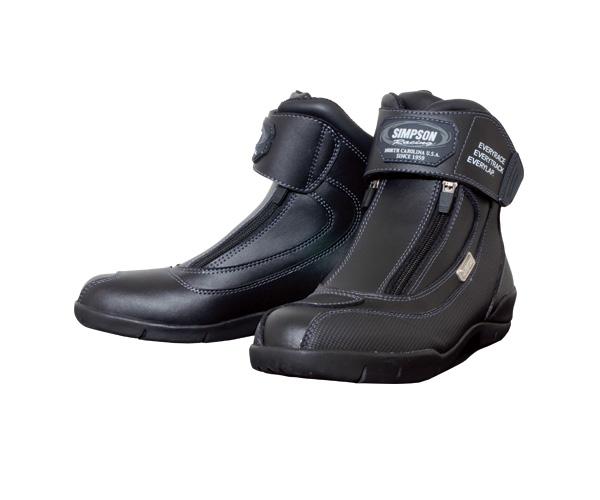 SPB-061 ショートブーツ ブラック 27cm SIMPSON(シンプソン)