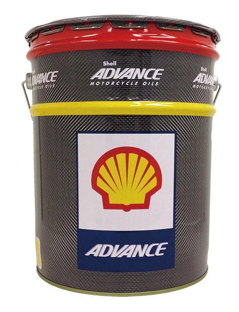 AX5 10W-40 20リットル(20L) Shell ADVANCE(シェルアドバンス)
