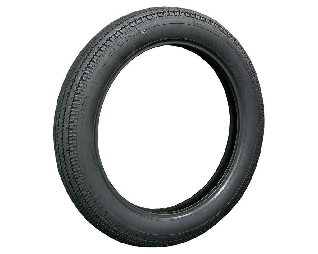 E270 スーパーイーグル ブラック 4.00-19タイヤ SHINKO(シンコー)