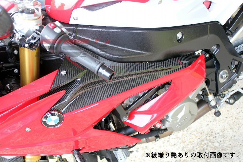 BMW S1000RR(15年~) フェアリングサイドパネル 左右セット ドライカーボン 平織り艶あり SSK(エスエスケー)