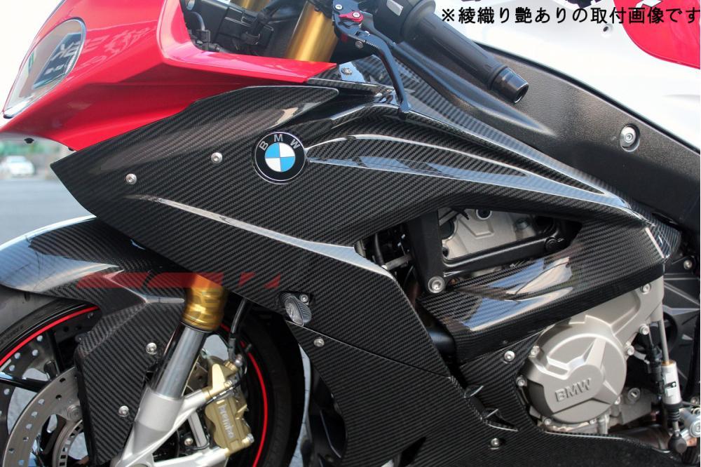BMW S1000RR(15年~) サイドカウル 左右セット ドライカーボン 平織り艶消し SSK(エスエスケー)