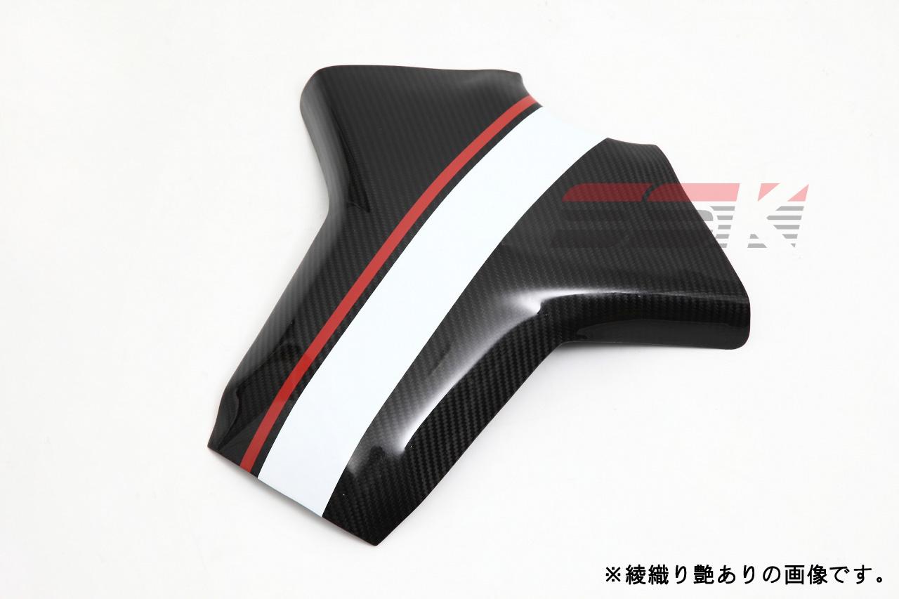 MT-09/ABS タンクパッド ドライカーボン 平織り艶あり SSK(エスエスケー)