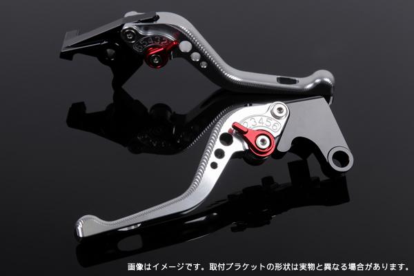 KTM 125DUKE ショートアジャストレバーセット 3D レバー:シルバー SSK(エスエスケー)