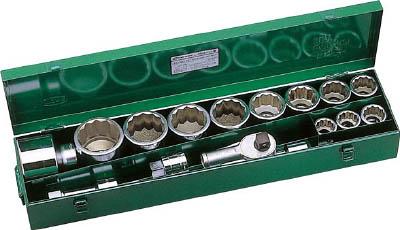 250MISO TONE ソケットレンチセット ISO(12角タイプ・差込角25.4mm) TONE(トネ)