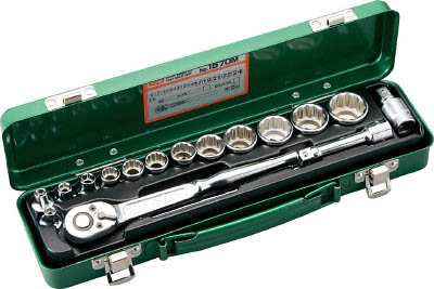 1570M TONE ソケットレンチセット(差込角9.5mm) TONE(トネ)