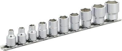 HS312 TONE ソケットセット(6角・ホルダー付) 12pcS(6角タイプ・ホルダ付) TONE(トネ)
