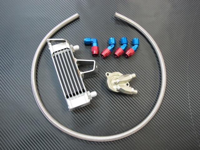 オイルクーラーキット 4.5インチ7段 TSR(テクニカルスポーツ) NSF250R