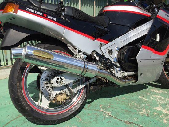 アレーテ・ボルテックス アルミサイレンサー φ115×480 月木レーシング(ツキギレーシング) ZX-10