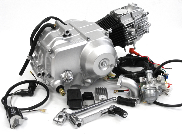 90ccエンジン 12Vオールキット 遠心クラッチ 田中商会 モンキー(MONKEY)