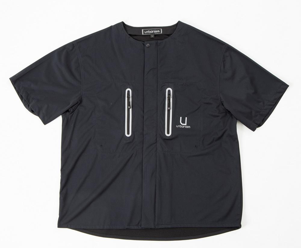 UNK-601 ライドテックシャツ ブラック 3Lサイズ urbanism(アーバニズム)