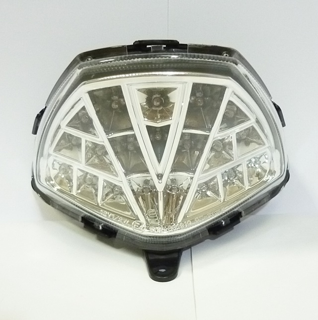 バーゲンセール 送料無料 CBR125R 11年~ LEDテールランプ クリア メーカー再生品 UNICAR ユニカー工業