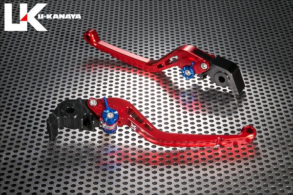 KTM KTM 1290SUPERDUKE U-KANAYA スタンダードタイプ ロングアルミビレットレバーセット(レッド) U-KANAYA, アトラスダイレクトショップ:bab12e63 --- officewill.xsrv.jp