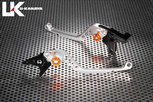 XJR1200 U-KANAYA スタンダードタイプ ロングアルミビレットレバーセット(シルバー) XJR1200 U-KANAYA, マサキチョウ:a40637e7 --- officewill.xsrv.jp