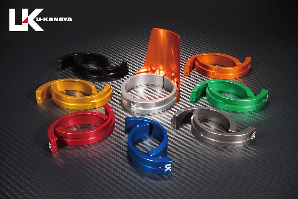 【在庫処分】 ZRX400/2(~03年) アルミビレットフロントフォークガード (オレンジ) (オレンジ) U-KANAYA, テシオグン:55ef0e76 --- business.personalco5.dominiotemporario.com