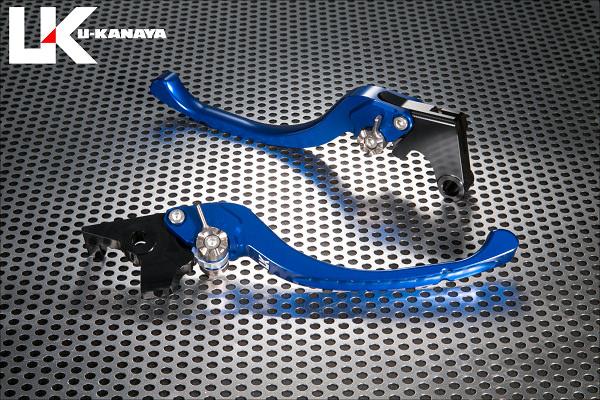 ツーリングタイプ アルミビレットレバーセット(ブルー) U-KANAYA CBR250RR(2BK-MC51)