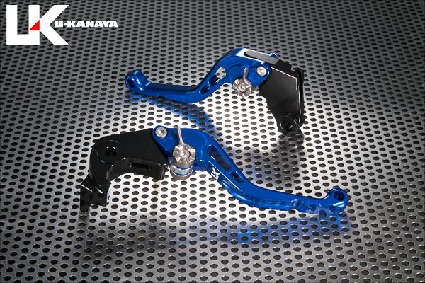 スタンダードタイプ ショートアルミビレットレバーセット(ブルー) U-KANAYA U-KANAYA Ninja1000(ニンジャ)17年, 諏訪工芸:d4f0f2f5 --- officewill.xsrv.jp