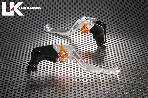 スタンダードタイプ ショートアルミビレットレバーセット シルバー U-KANAYA Z900RS